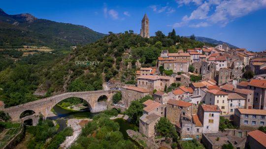 Classé parmi les plus beaux villages de France - Olargues (34)