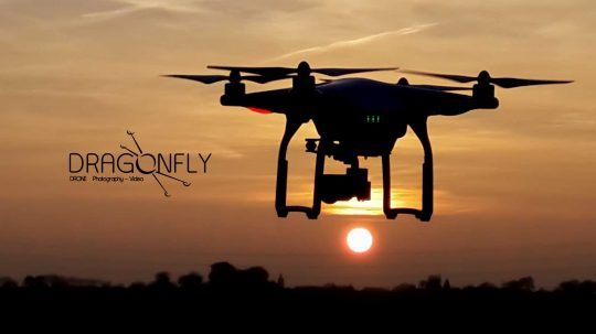 Sunset avec DragonFly-Drone
